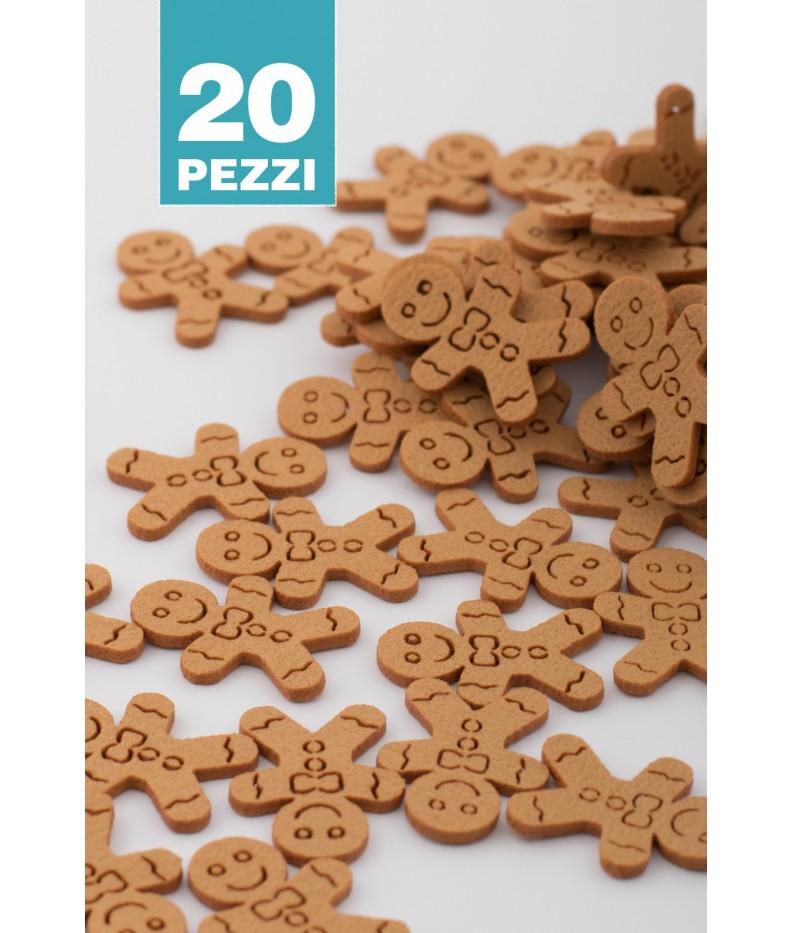 Omino Marzapane 30 pezzi