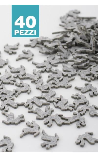 Renna in feltro 40 pezzi