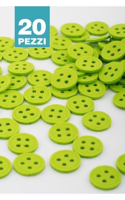 Bottone tondo 20 pezzi