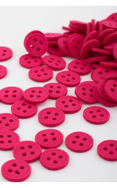 Round button felt 100 pieces