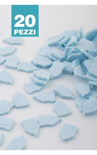 Feeding bottle Felt - Light Blue 20 pieces