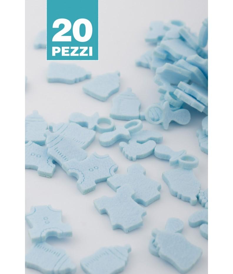 Kit Geburt himmelblau 20 Stück