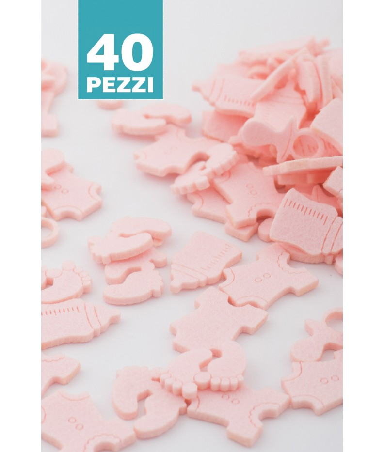 Kit birth light pink 20 pieces