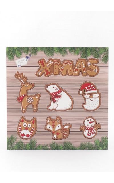 Tag decorativi in legno - 001