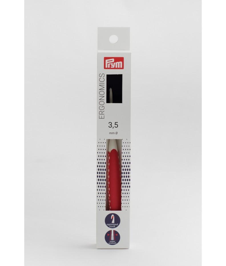 Wollhäkelnadel Prym Ergonomics 3,5 mm
