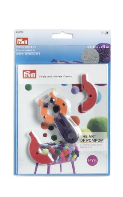 PomPon Set Prym Ø 3,5 - 5 cm