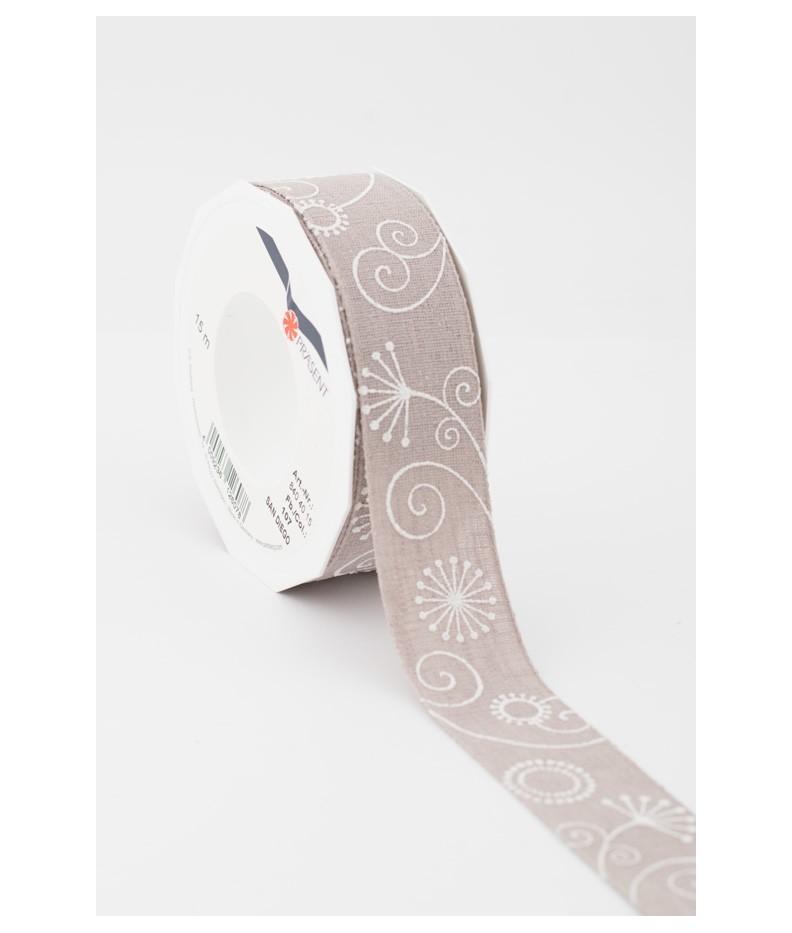 Ribbon Fantasy Taupe 40mm
