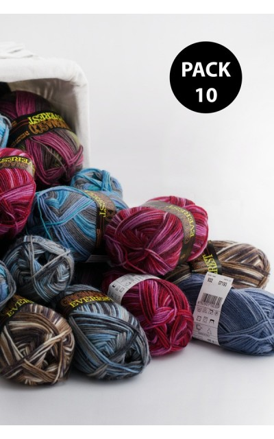 Everest Grignasco Knits - Pack 10 gomitoli