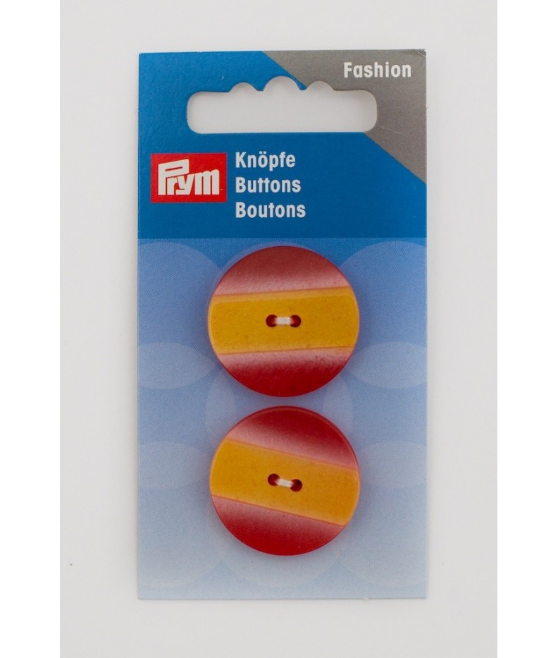 Button two holes 25mm Prym