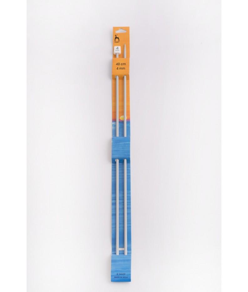 Single-pointed knitting pins US 6