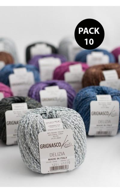 Delizia Grignasco Knits - Pack 10 gomitoli