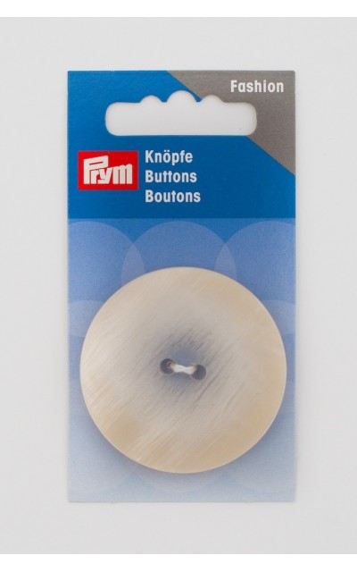 Bottone 2  fori  44mm Prym