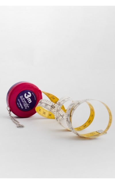 Retractable tape measure 3mt
