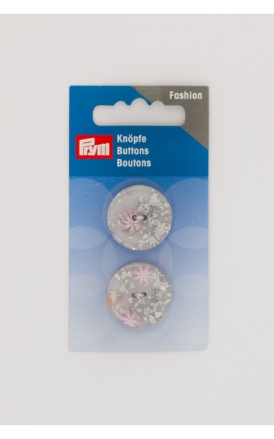 Button 2 holes 23mm Prym