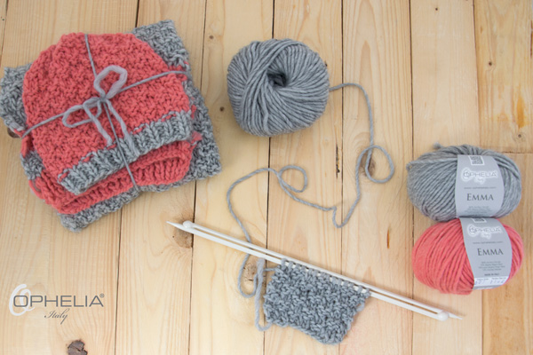 Tutorial sciarpa e cappello a punto dama.. - Blog Ophelia Italy 79a78159d65b