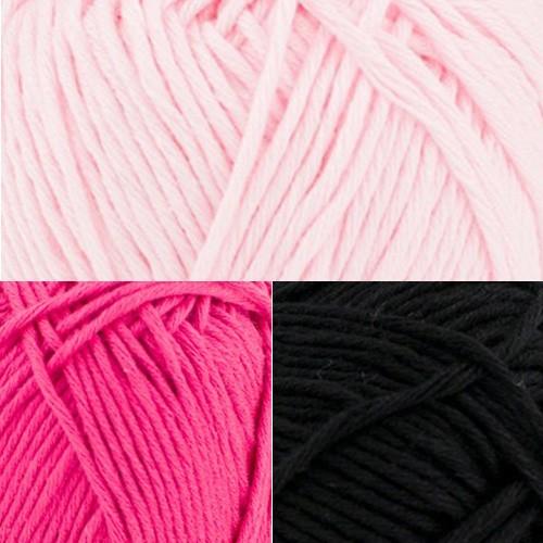 001 light pink - fuchsia