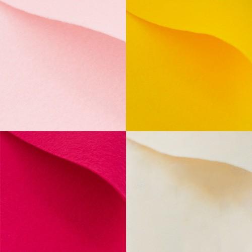 002 rosa giallo fucsia panna